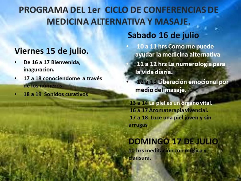 programa de ciclo de conferencias
